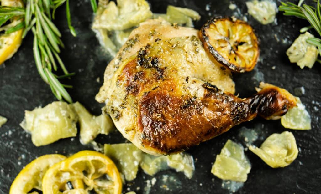 Gluten Free Roasted Buttermilk Chicken with Fresh Herb & Lemon