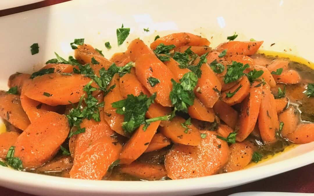 Gluten Free Braised Carrots