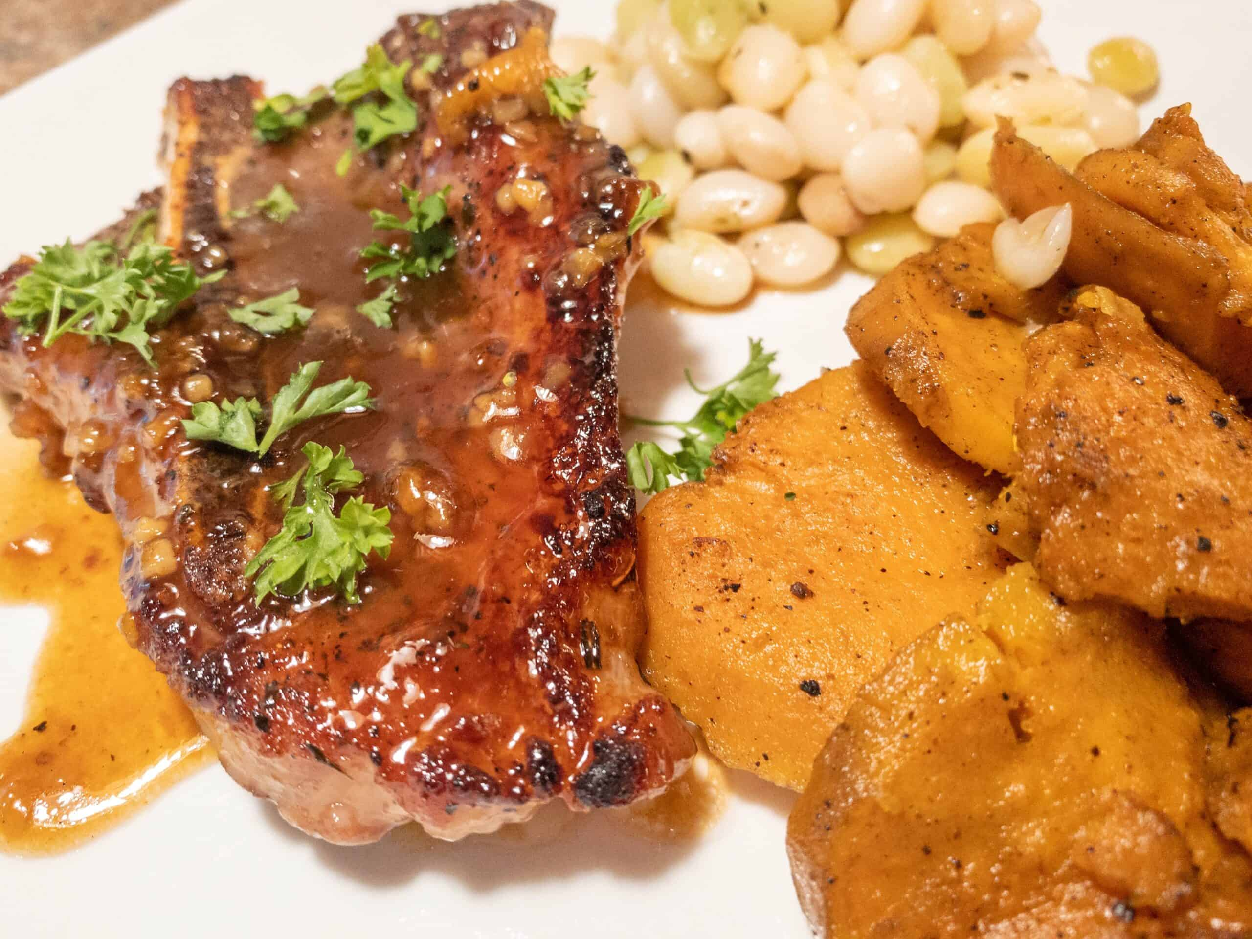 Gluten Free Honey Glazed Pork Chops
