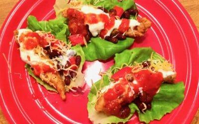 Gluten Free Fish Taco Wraps