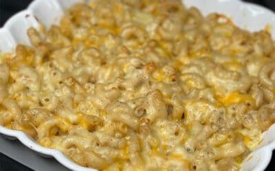 James Hemings Macaroni & Cheese (Gluten Free Cheese Pie)